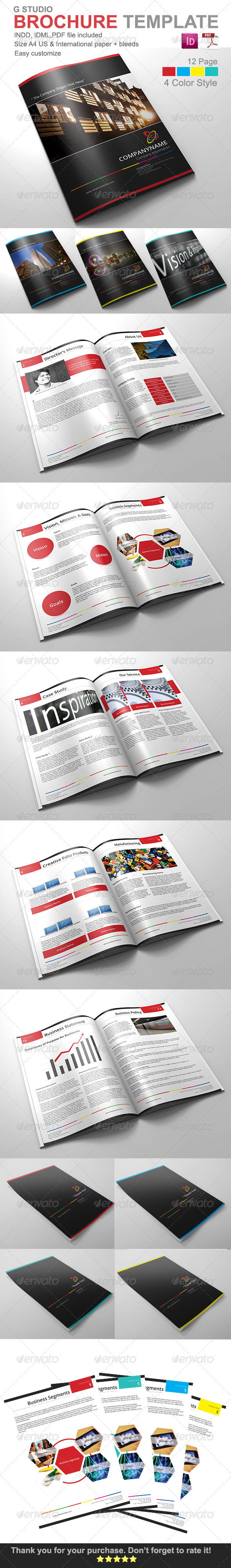 Gstudio Brochure Template - Corporate Brochures