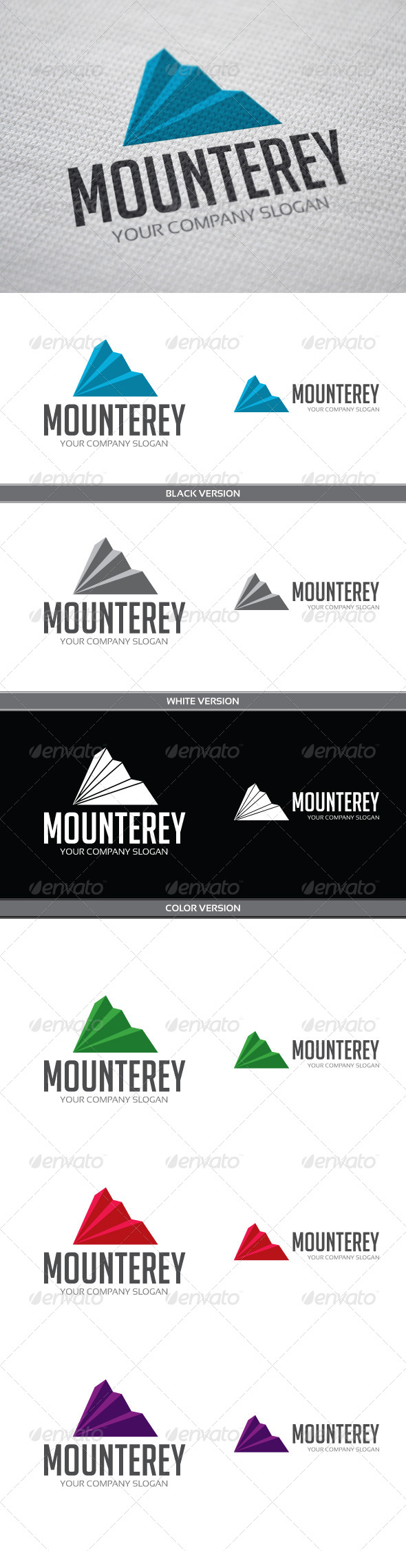 Mounterey - Objects Logo Templates