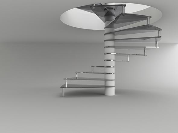 Ladder For Interior Design   3DOcean Item For Sale