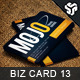 Business Card Design 13 - GraphicRiver Item for Sale