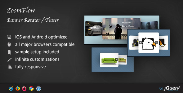 ZoomFlow - Banner Rotator / Teaser - CodeCanyon Item for Sale