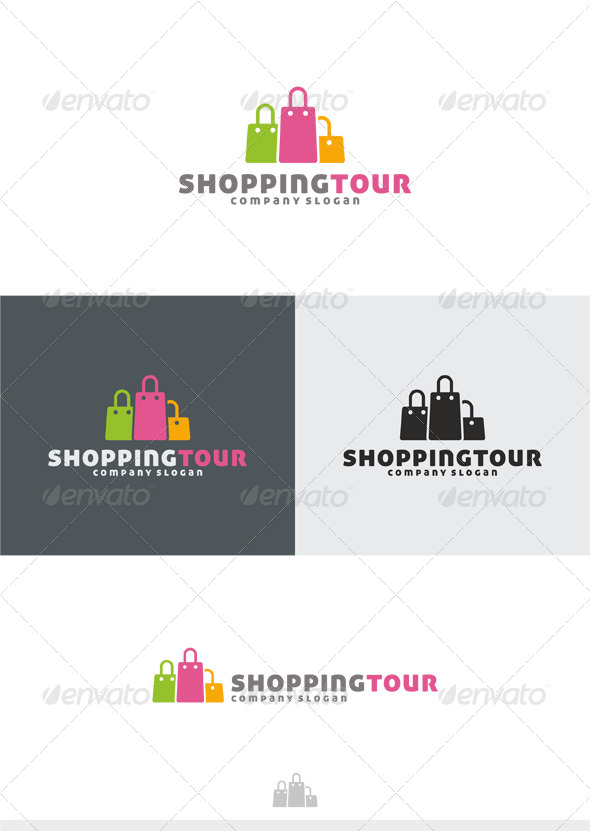 Shopping Tour Logo - Symbols Logo Templates