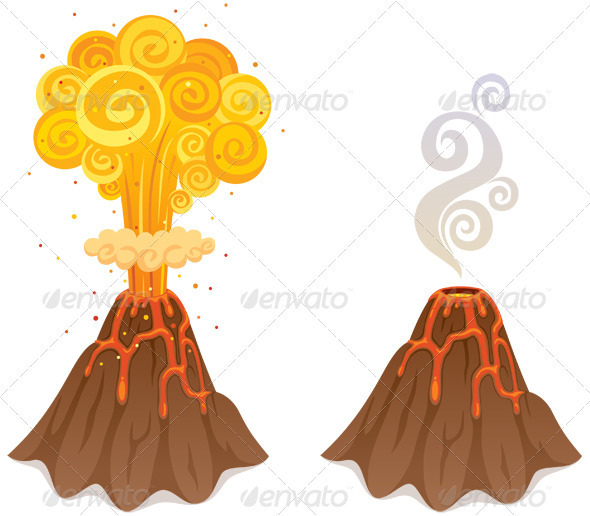 Volcano - Nature Conceptual