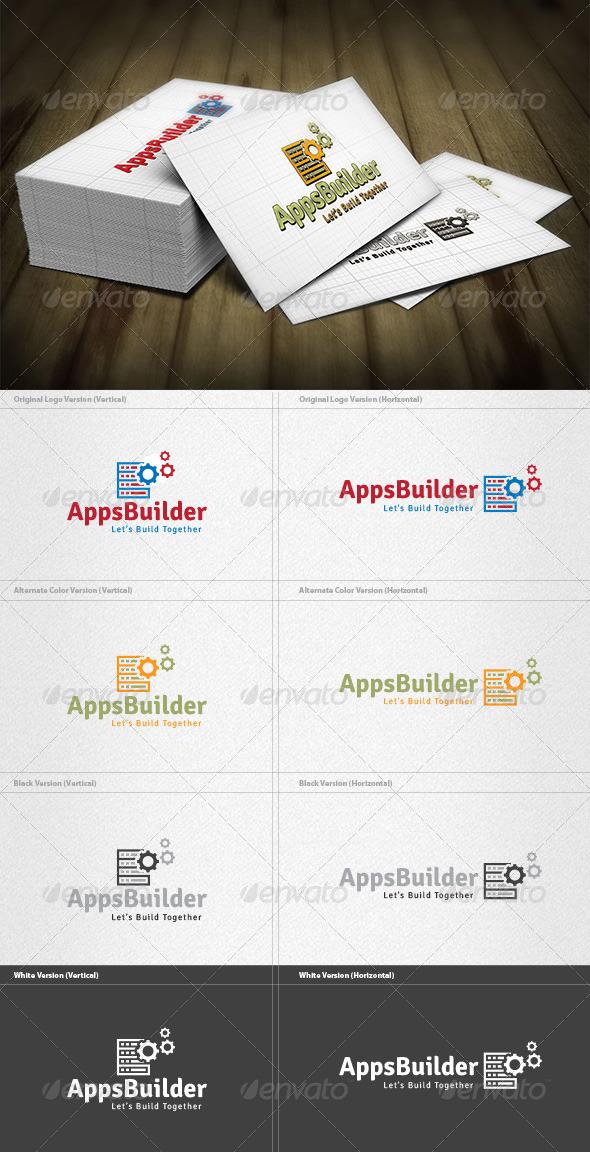 App Builder Logo - Vector Abstract