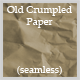 Old Crumpled Paper (seamless) - GraphicRiver Item for Sale