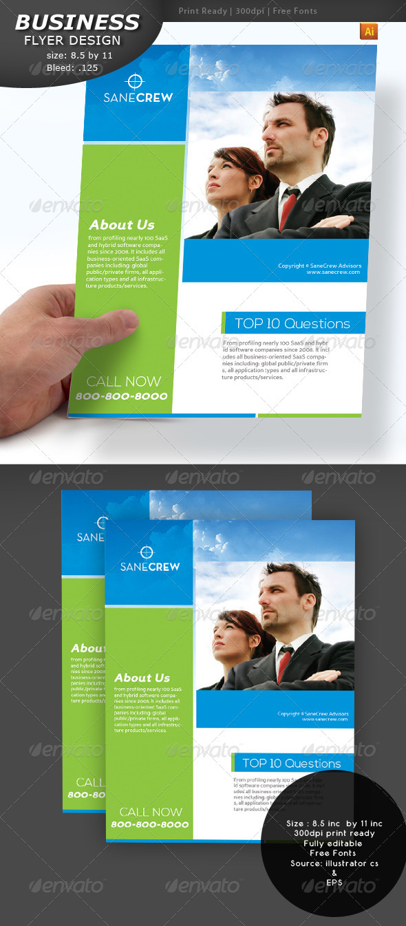 Business Flyer - Flyers Print Templates