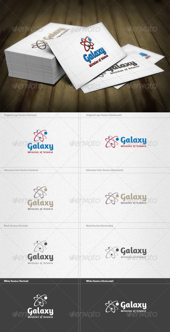 Galaxy Logo - Symbols Logo Templates