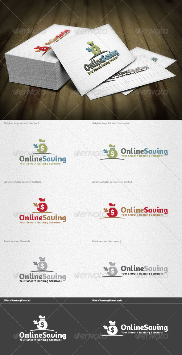 Online Saving Logo - Symbols Logo Templates