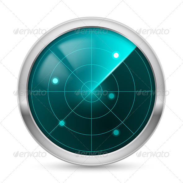 Radar Icon - Objects Vectors