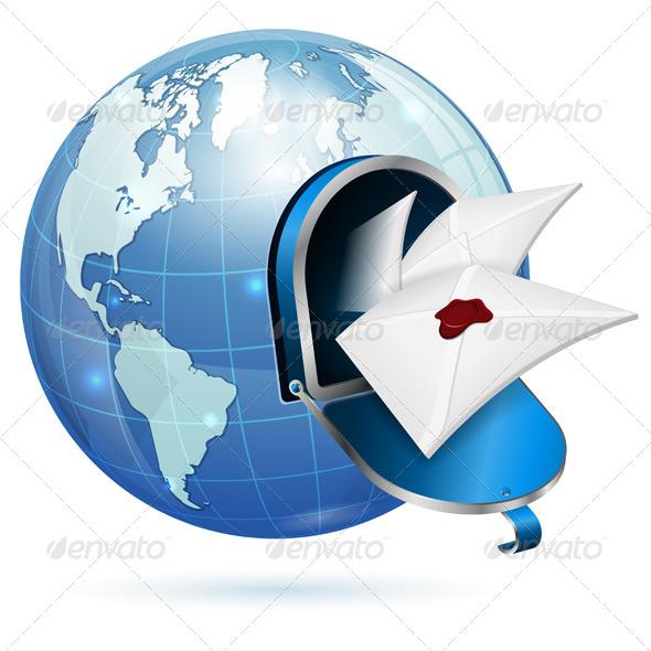 E-Mail Concept - Web Technology