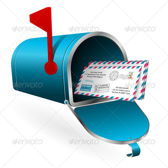 Mail and E-Mail Concept - Web Technology
