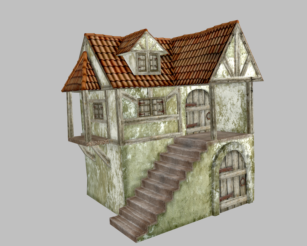 Medieval House By Mightnight99 3docean