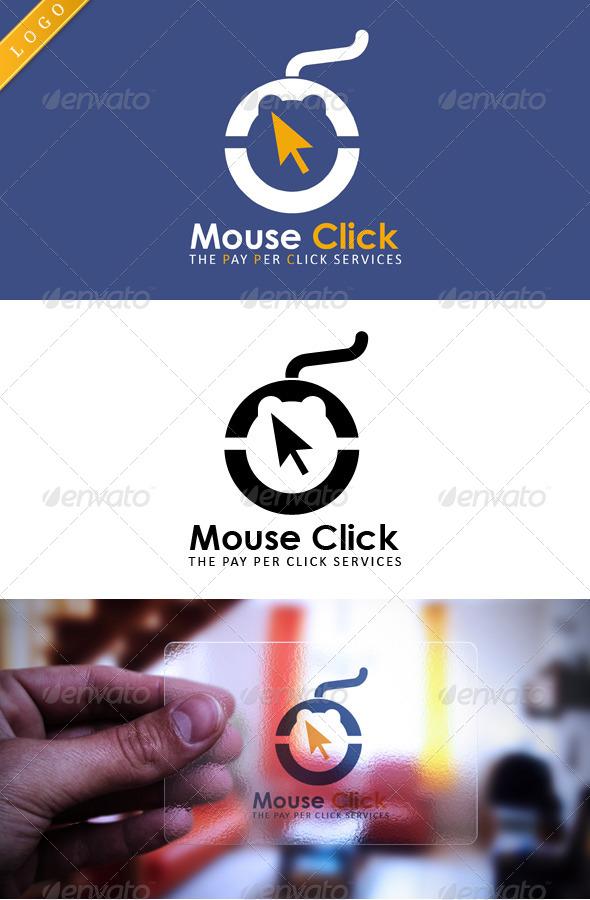 Mouse Click - Symbols Logo Templates