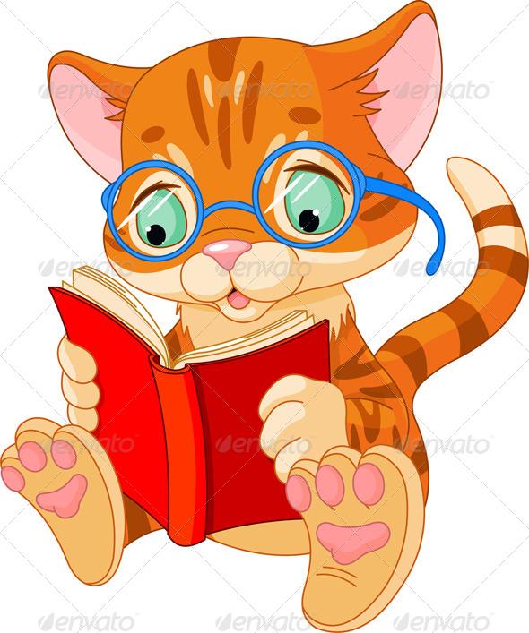 Cute Kitten Education - Animals Characters