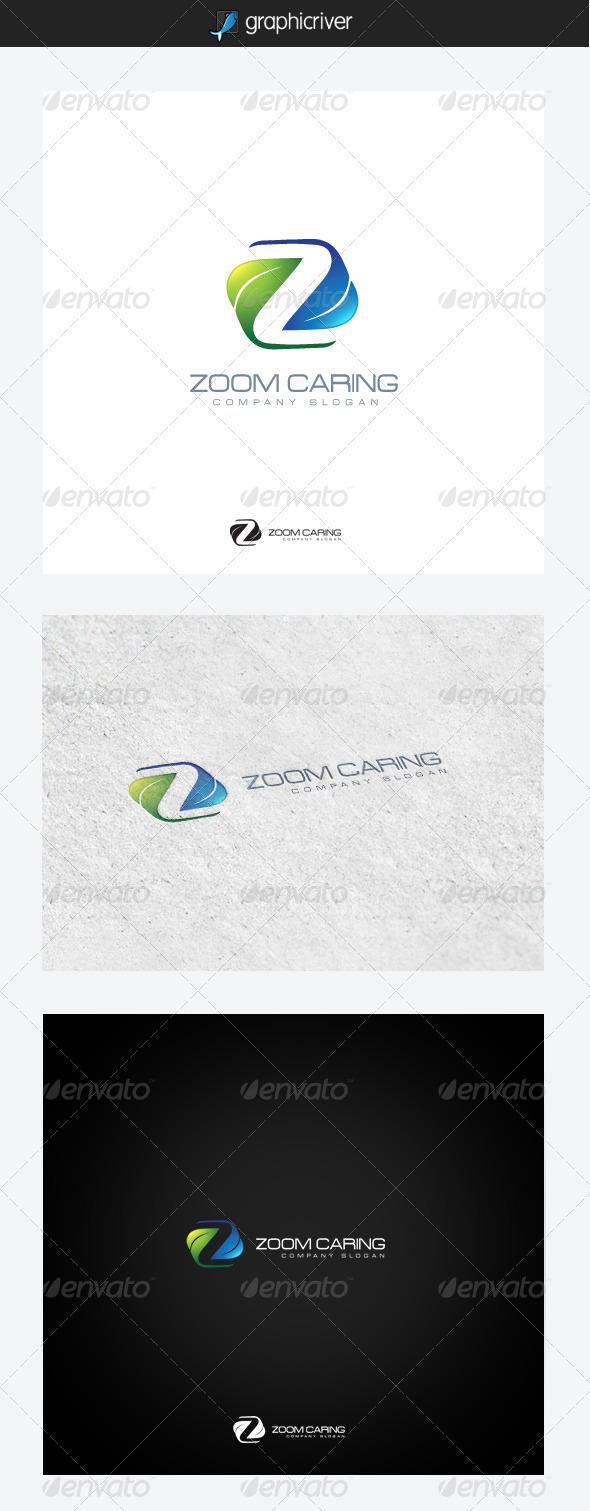 Zoom Caring - Nature Logo Templates