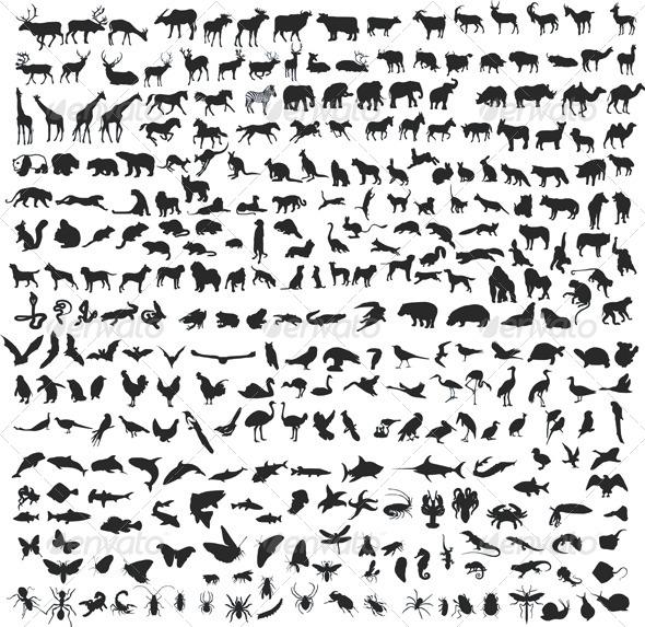 300 Animals - Animals Characters