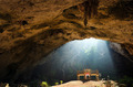 Golden temple in cave - PhotoDune Item for Sale
