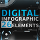 Download Digital Infographic (26 Elements) from VideHive
