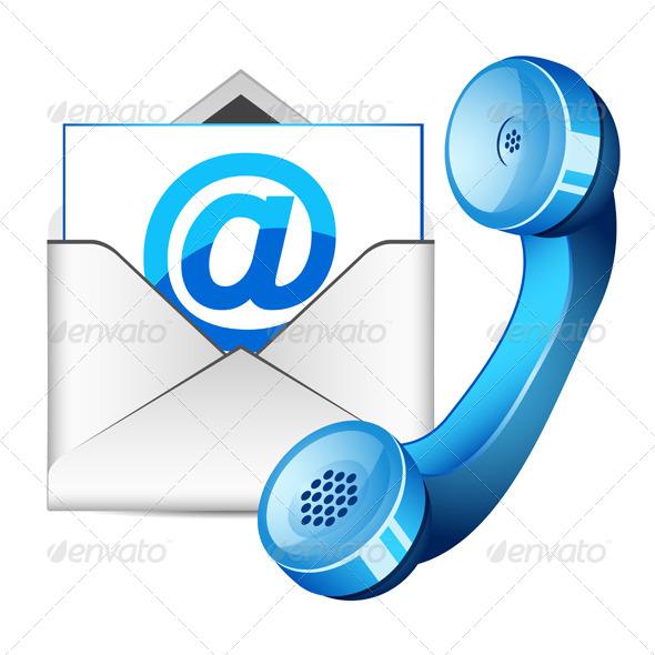 Contact Us Icon - Web Elements Vectors