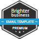Brighter Business Email Template Nulled