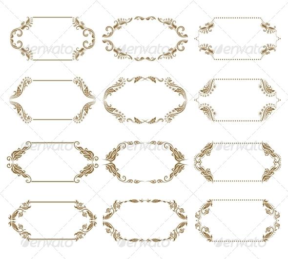 Decorative Frames - Borders Decorative