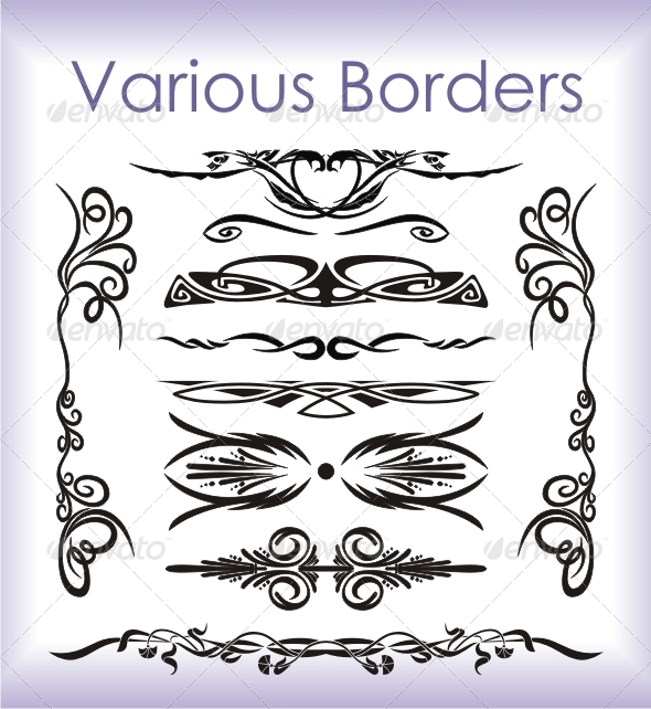 Various Borders - Borders Decorative