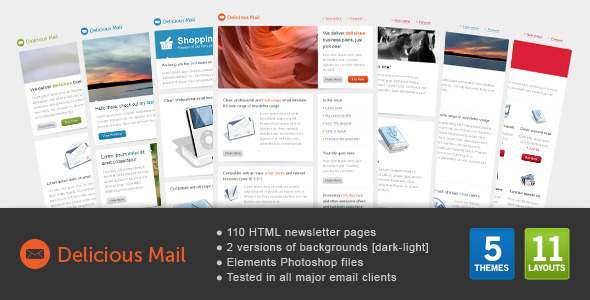 Delicious Mail - Email Templates Marketing