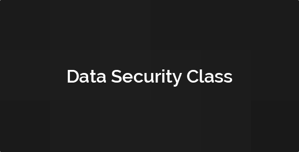 Data Security Class