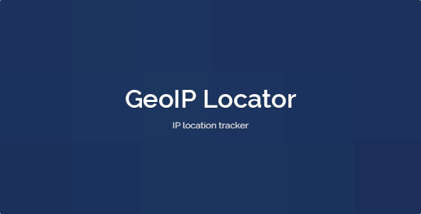 GeoIP Locator - CodeCanyon Item for Sale