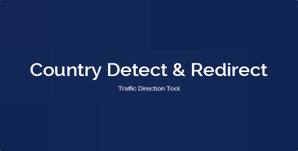 Country Detect & Redirect - CodeCanyon Item for Sale