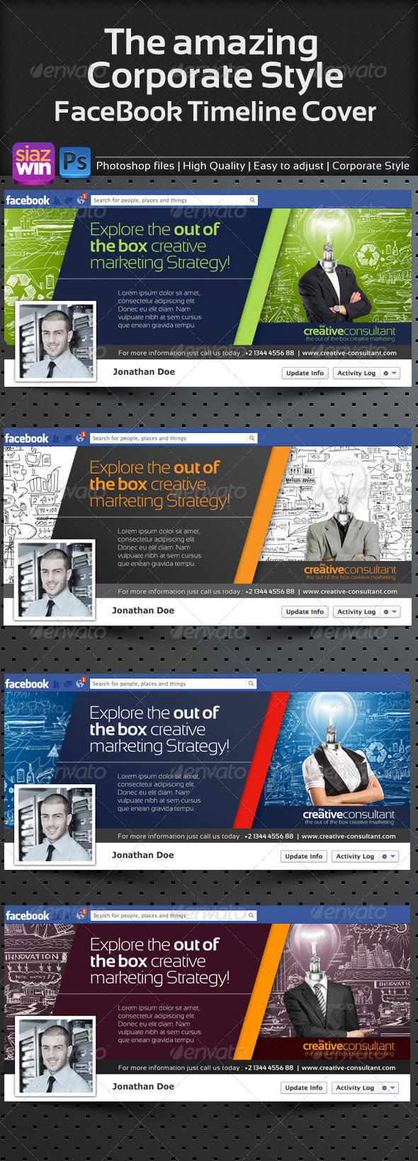 The Corporate FB Timeline 01 - Facebook Timeline Covers Social Media