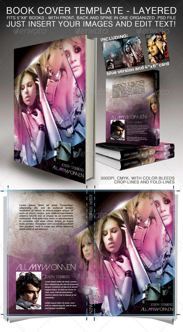 Book Cover - Print ready - Miscellaneous Print Templates