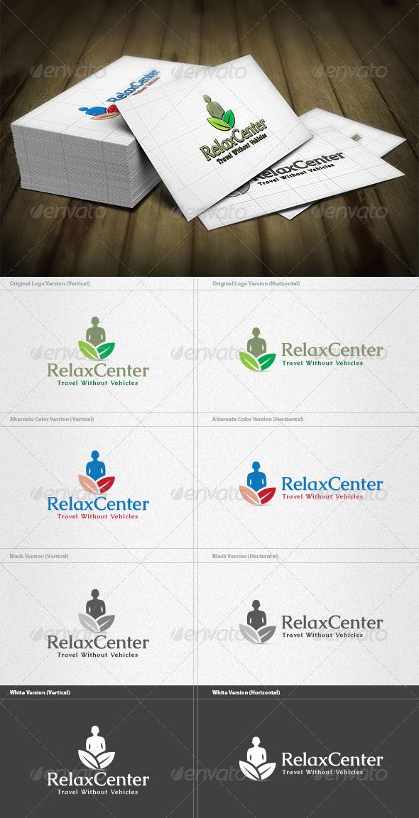 Relax Center Logo - Nature Logo Templates