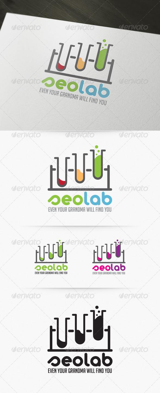 Seo Lab Logo - Objects Logo Templates
