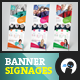Social - Banner Signage 2 - GraphicRiver Item for Sale
