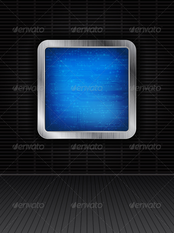 Technology Theme Background - Technology Conceptual