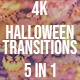 Halloween Transitions 4 K - VideoHive Item for Sale