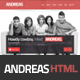 Andreas - Creative HTML 5 Responsive Template  - ThemeForest Item for Sale