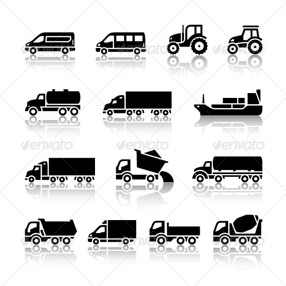 16 Transport Icons - Icons