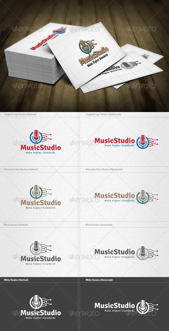 Music Studio  Logo - Symbols Logo Templates