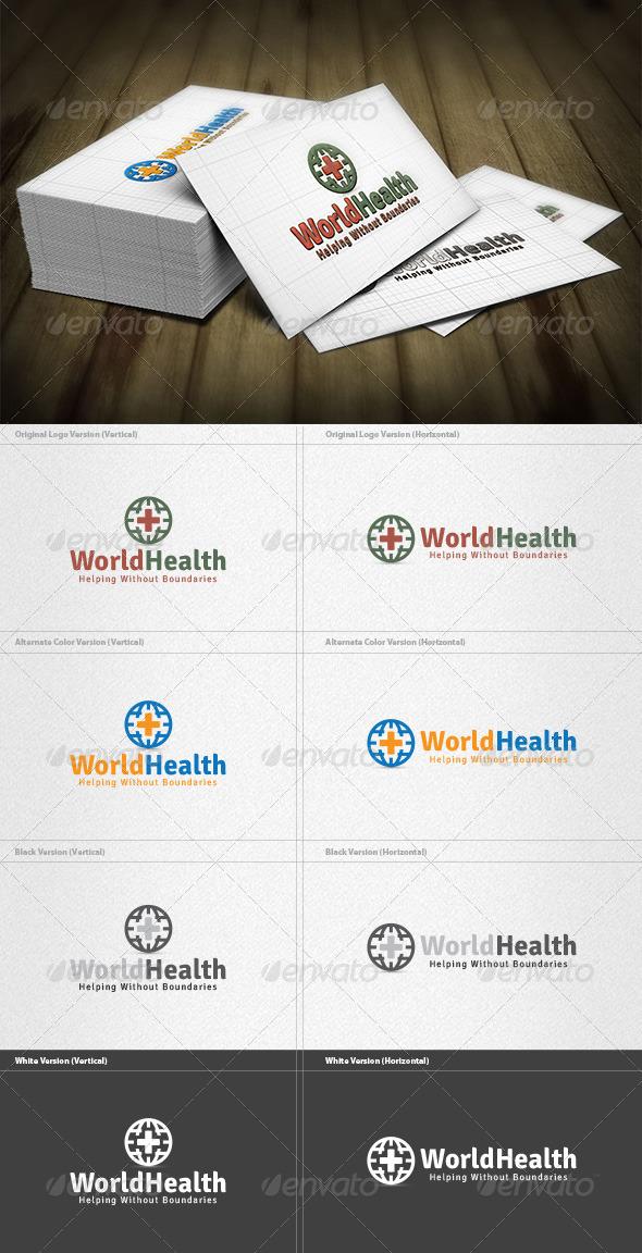 World Health Logo - Symbols Logo Templates