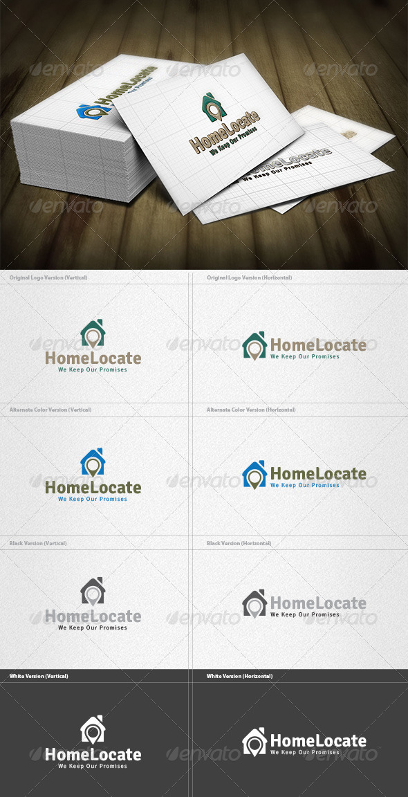 Home Locator Logo - Buildings Logo Templates