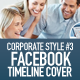 FB Timeline Cover Corporate Style No.3 - GraphicRiver Item for Sale