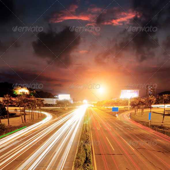 Overpass bridge - Stock Photo - Images