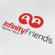 Infinity Friends Logo - GraphicRiver Item for Sale