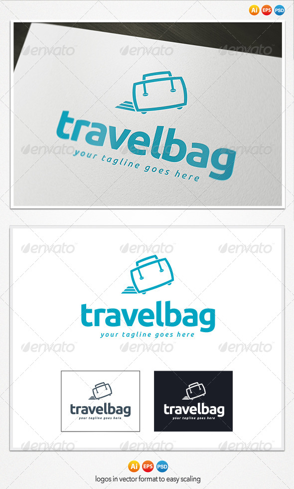 Travel Bag Logo - Symbols Logo Templates