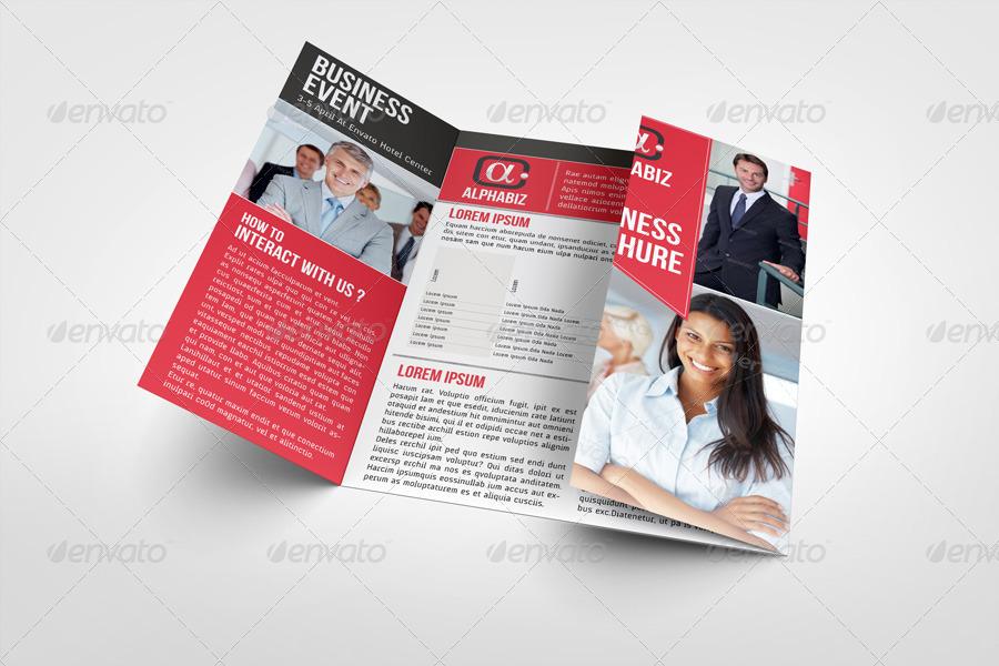 business brochure gate fold template alphabiz by bagera graphicriver. Black Bedroom Furniture Sets. Home Design Ideas