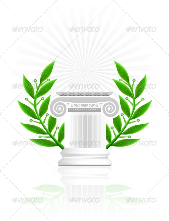 Classic Column - Decorative Symbols Decorative