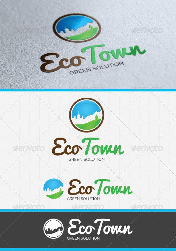 Eco Town logo Template - Symbols Logo Templates