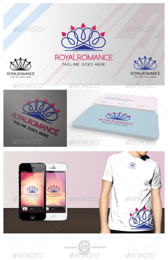 Royal romance Logo - Symbols Logo Templates